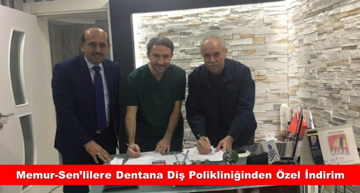 Korumalı: Konya Memur-Sen'lilere Dentana Diş Polikliniğinden Özel İndirimli Tedavi İmkânı