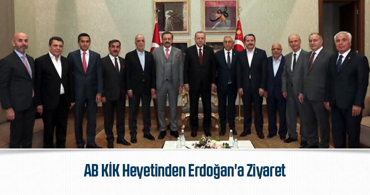AB KİK Heyetinden Erdoğan'a Ziyaret