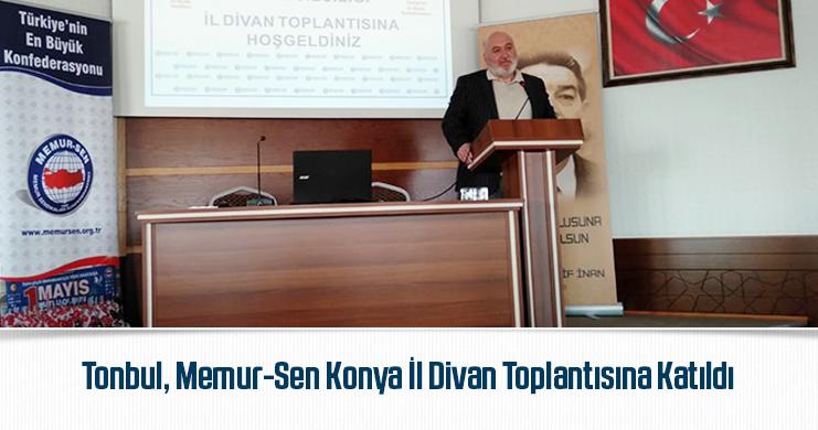 Memur-Sen'in Konya'da İl Divan Kurulu Toplantısı Yapıldı