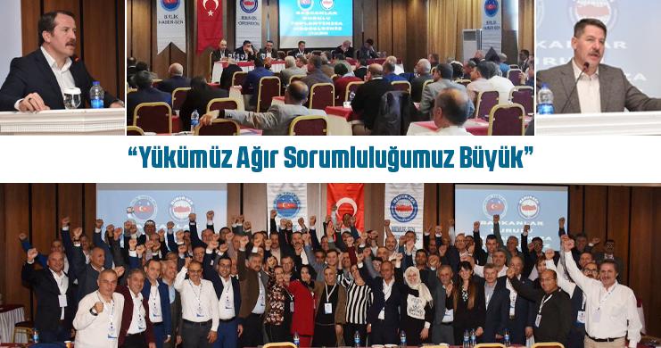 Genel Başkan Ali Yalçın, Birlik Haber-Sen'in Başkanlar Kurulu Toplantısına Katıldı