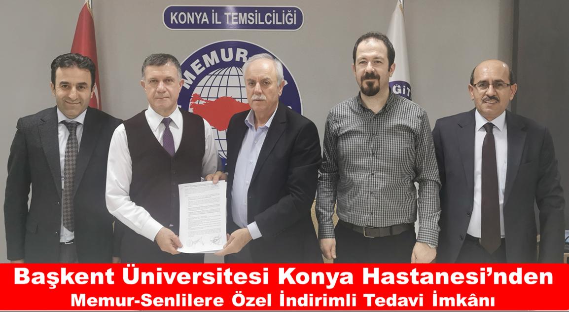 Başkent Üniversitesi Konya Hastanesi'nden Memur-Senlilere Özel İndirimli Tedavi İmkânı
