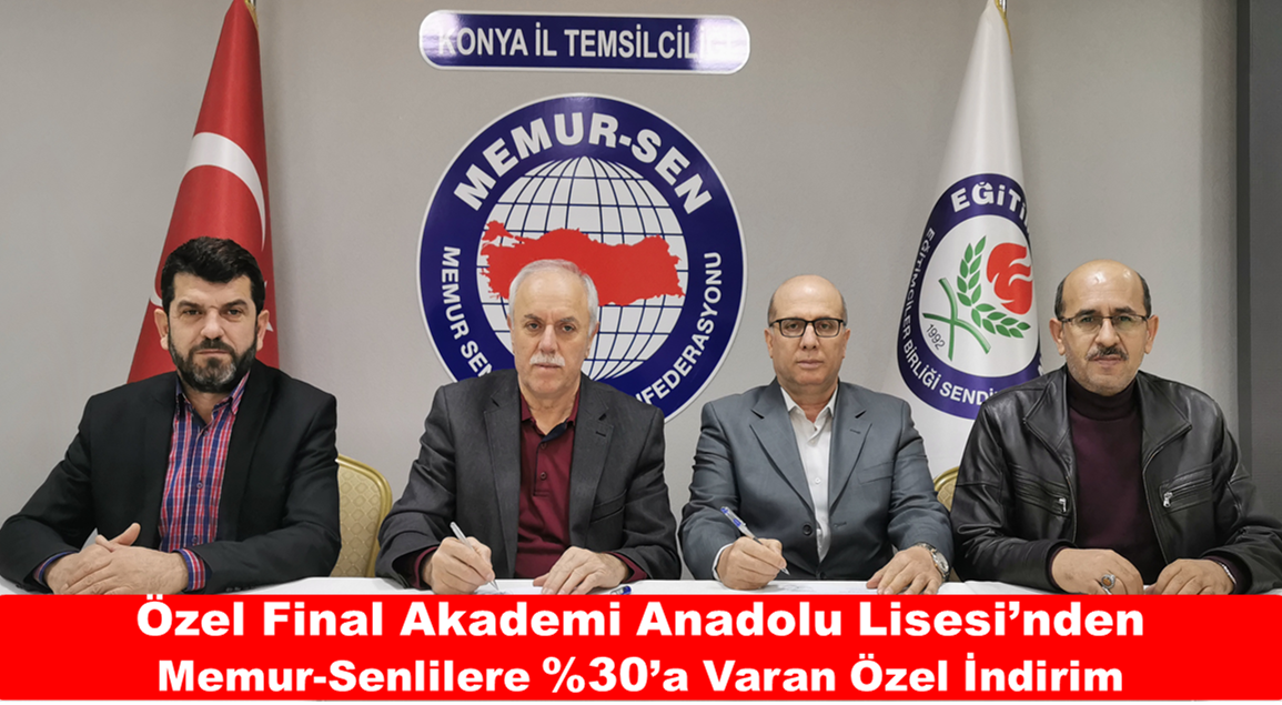 Özel Final Akademi Anadolu Lisesi'nden Memur-Senlilere %30'a Varan Özel İndirim
