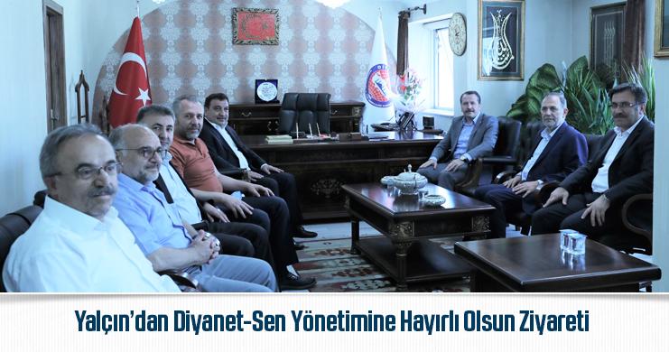 Genel Başkan Ali Yalçın'dan Diyanet-Sen Yönetimine Hayırlı Olsun Ziyareti