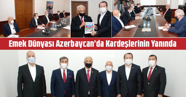 Genel Başkan Yalçın: Ninnimiz Karabağ, Türkümüz Karabağ, Umudumuz Karabağ