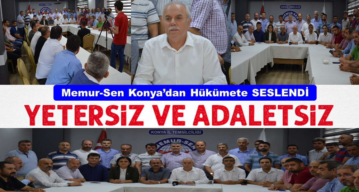 """Memur-Sen İl Başkanı Nazif Karlıer: """"Sunulan Teklif Yetersiz ve Adaletsiz"""""""