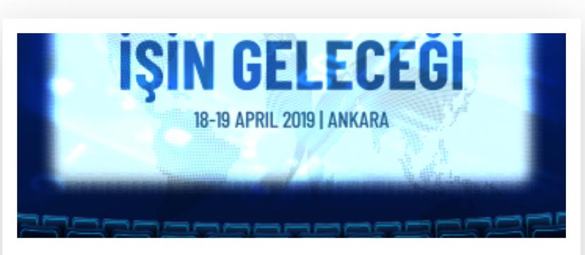 İşin Geleceği 18 Nisan 2019