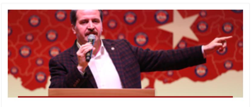 Genel Başkan Ali Yalçın Diyanet-Sen 2. Türkiye Buluşması Konuşması