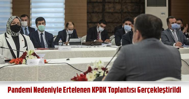 Pandemi Nedeniyle Ertelenen KPDK Toplantısı Gerçekleştirildi