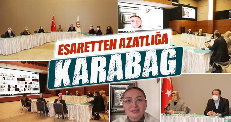 """""""Esaretten Azatlığa Karabağ"""" Video Konferansı Gerçekleştirildi"""